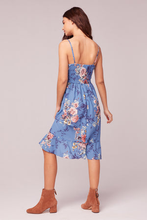 Flower In The Sun Midi Dress Back
