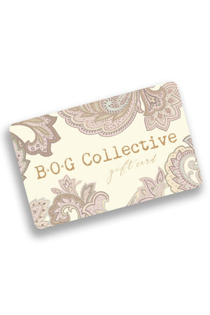 B.O.G. Collective E-Gift Card