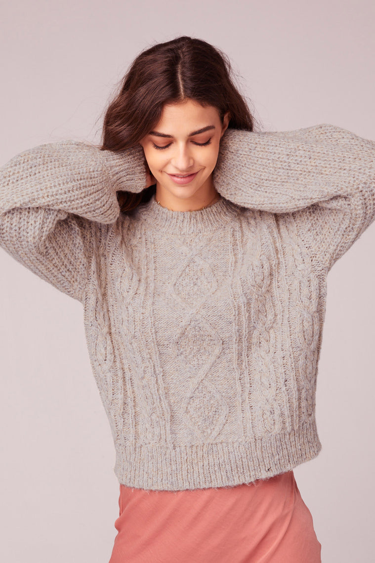 Hella Good Cable Knit Sweater Master