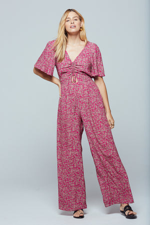 Ibiza Floral Cut-Out Jumpsuit Master