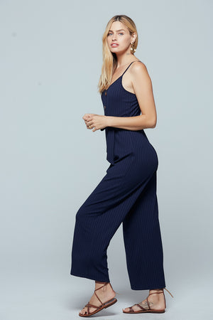 Journey Rib Knit Jumpsuit Side