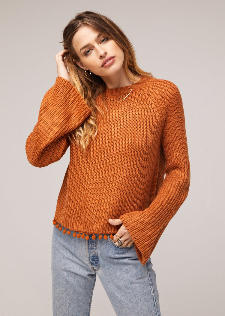 Cayden Bell Sleeve Tasseled Sweater Master