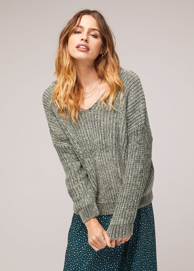 Cecil Chenille Sweater