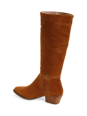 Larkspur Rust Suede Knee High Boot Back