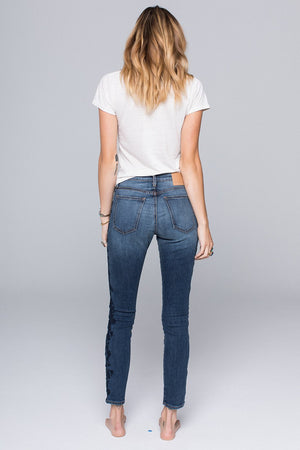Lola Gypsy Skinny Embroidered Jean