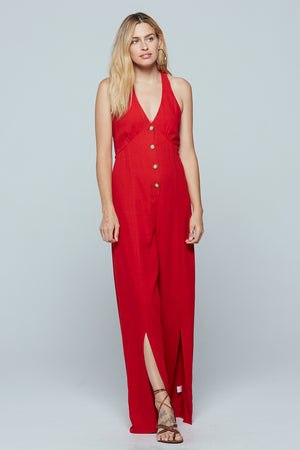 Manila Wide Leg Jumpsuit Detail