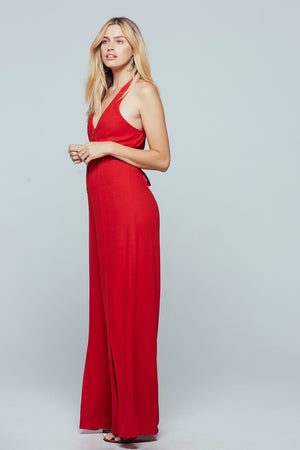 Manila Wide Leg Jumpsuit Side