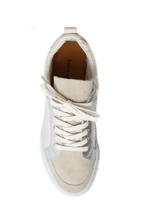 Mars Natural Snake Effect Platform Sneaker Top