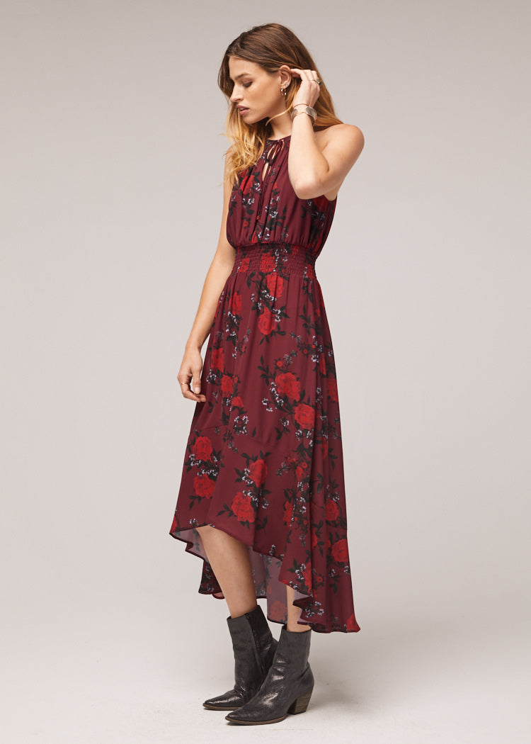 Mason-Hi-Low-Floral-Maxi-Dress-Side