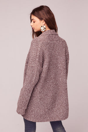 Miss you Oversize Cardigan Sweater Back2