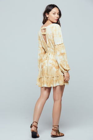 Mojave Tie Dye Dress Side