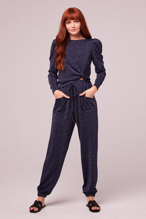 Myrna Midnight Shimmer Pocket Joggers Master