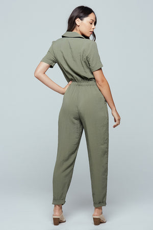 Nine Mile Utility Jumpsuit Back