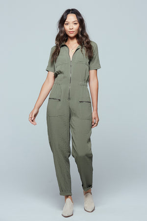 Nine Mile Utility Jumpsuit Detail