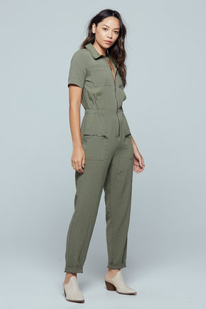Nine Mile Utility Jumpsuit Side