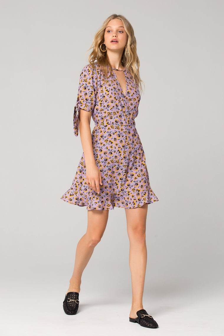 Nottingham Lavender Floral Mini Dress Master 2