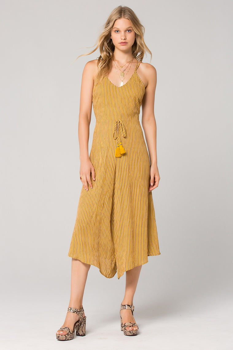 Paris Tassel Wide Leg Jumpsuit