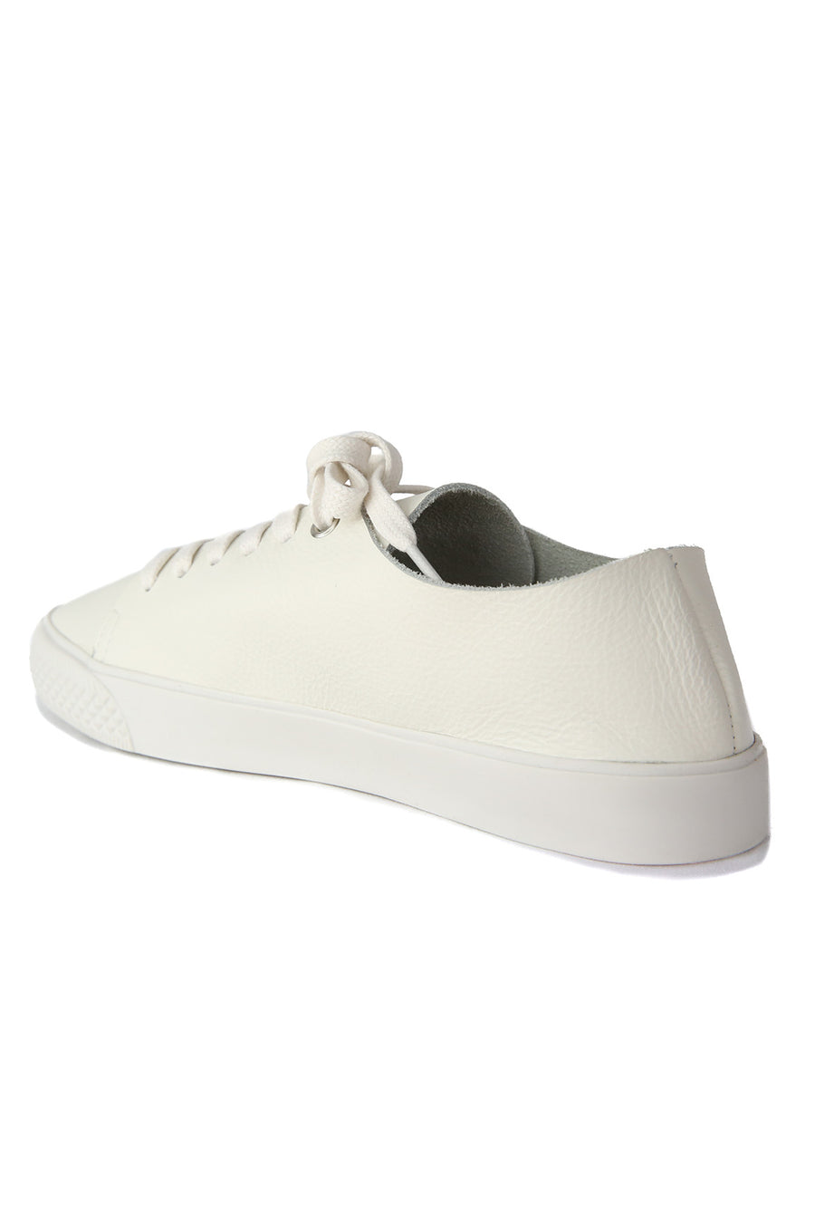 Pluto White Leather Sneaker Master