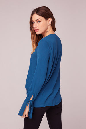 Rome Bell Sleeve Blouse Back
