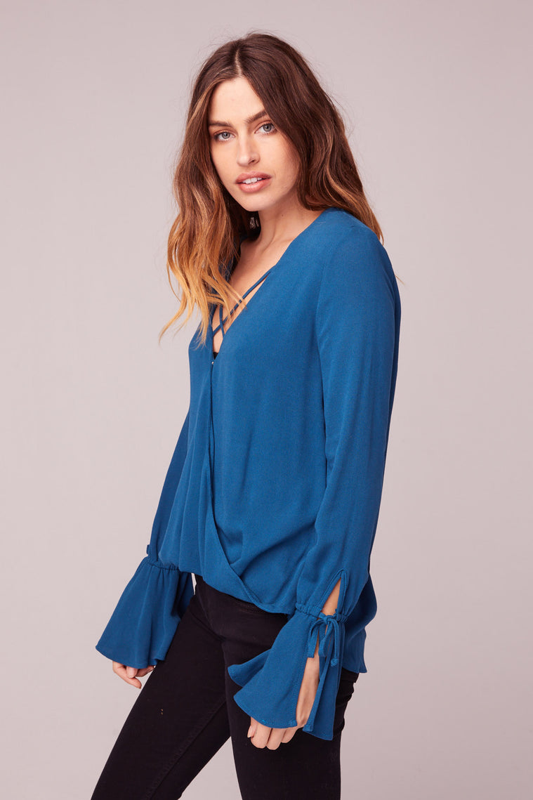 Rome Bell Sleeve Blouse Side