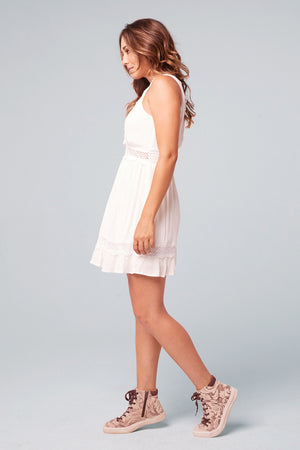 Sicily Lace Minidress Side