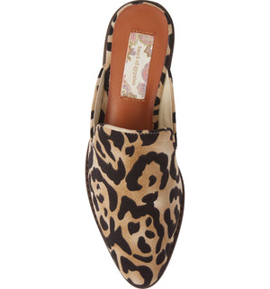 Skipper Leopard Print Loafer Mule Top