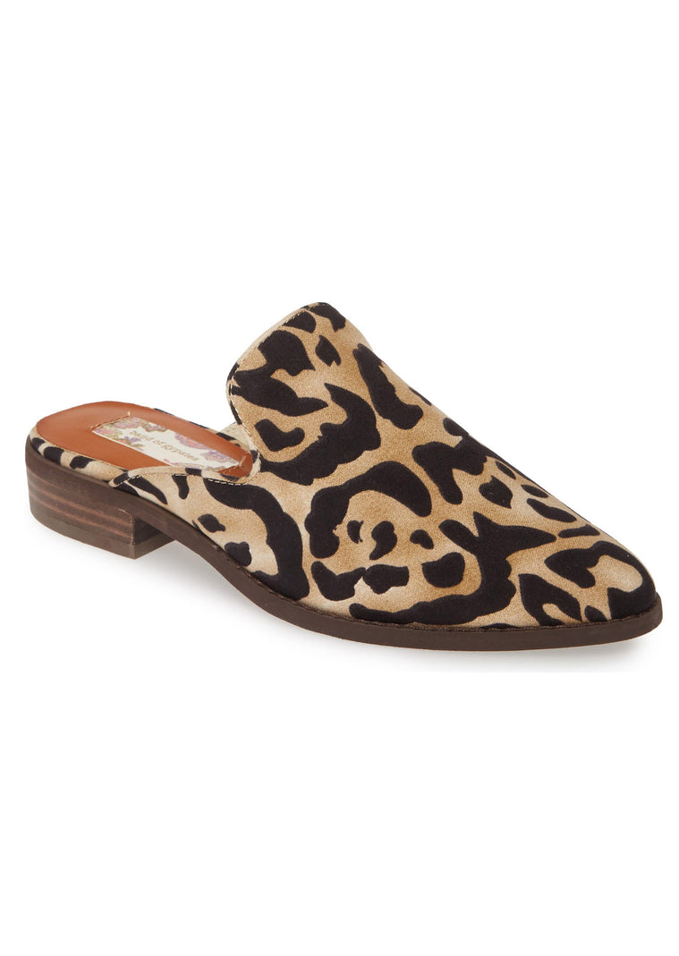 the sale of shoes great look usa cheap sale Skipper Leopard Print Loafer Mule – Band of Gypsies
