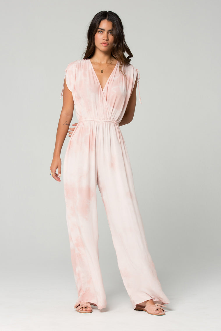 St Martins Blush Tie Dye Surplus Jumpsuit Master