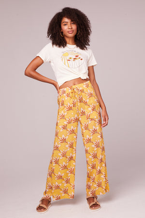 Stella Golden Wide Leg Pants Master