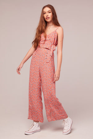 Sunflower Floral Print Pant Side