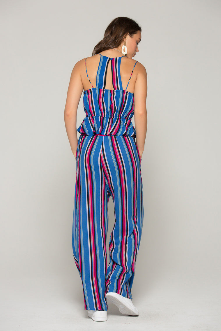 Suri Stripe Surplus Tank Top Back