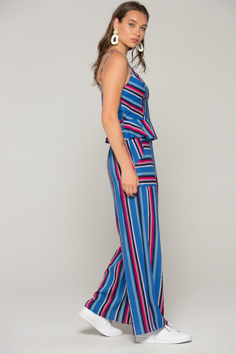 Suri Stripe Surplus Tank Top Side