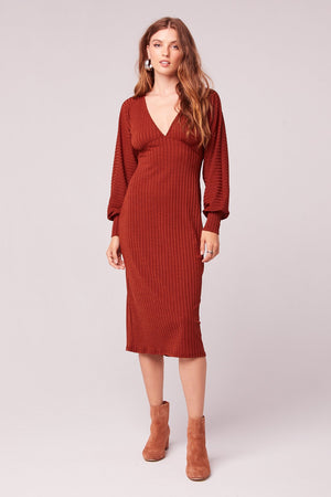 Tarte Bishop Sleeve Midi Dress