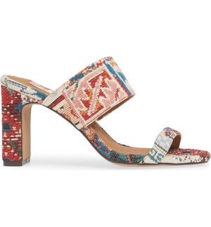 Torrey Vegan Tapestry Double Strap Sandal Side