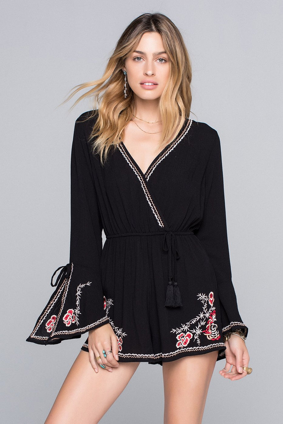 Emily Embroidered Playsuit Master
