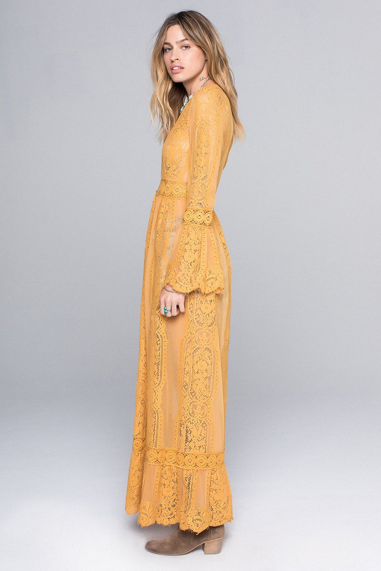 Lace Bell Sleeve Duster – Band of Gypsies