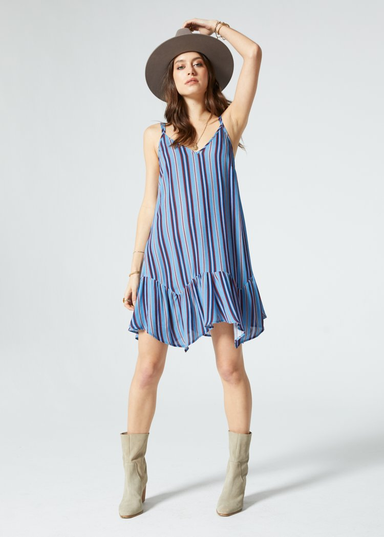 Selena Multi Strap Shift Dress