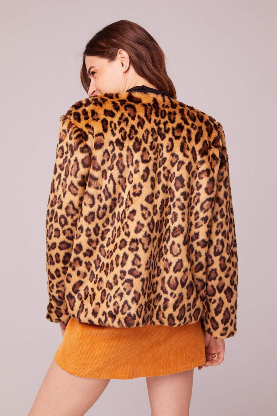 Walk On The Wild Side Faux Fur Jacket