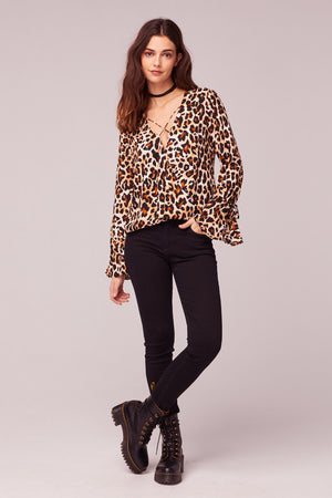 Welcome To The Jungle Leopard Print Top master