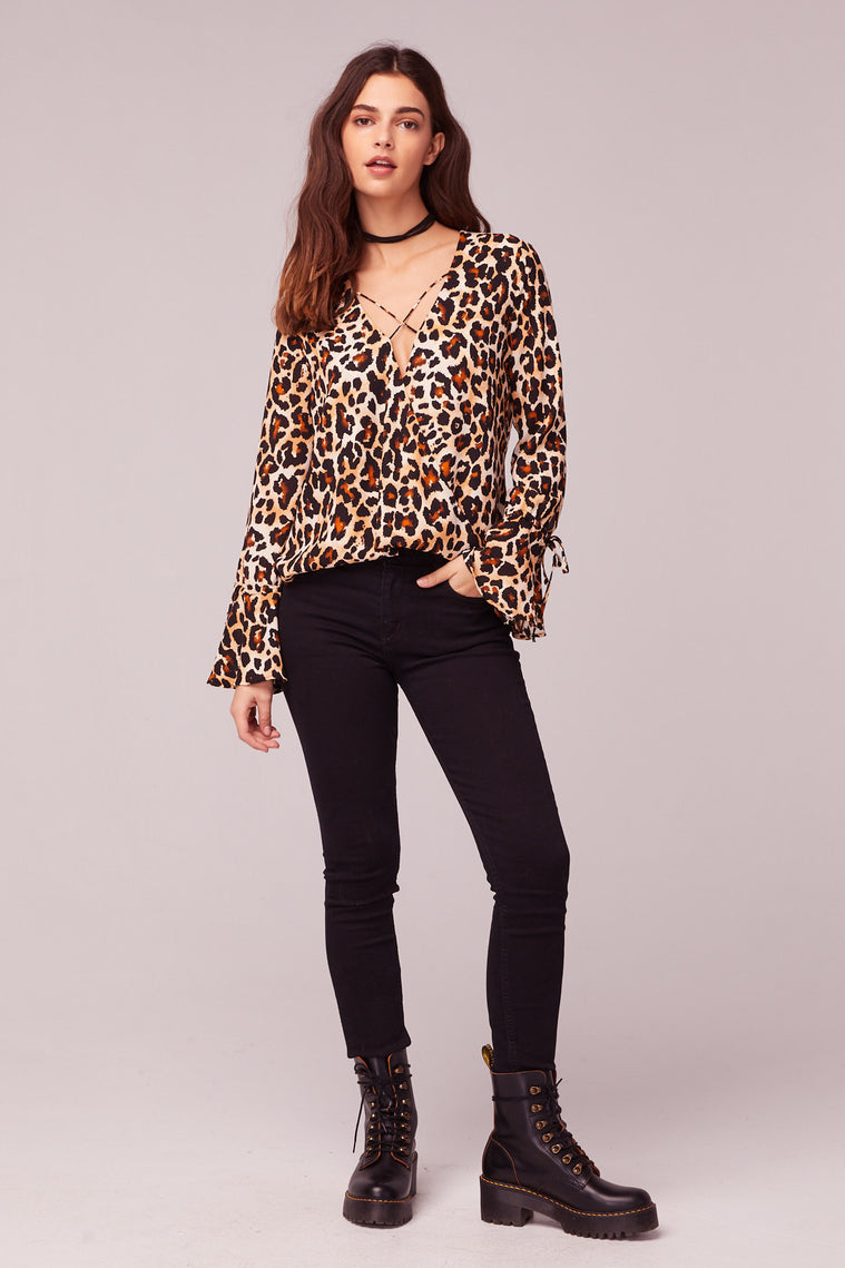 Welcome To The Jungle Leopard Print Top master2