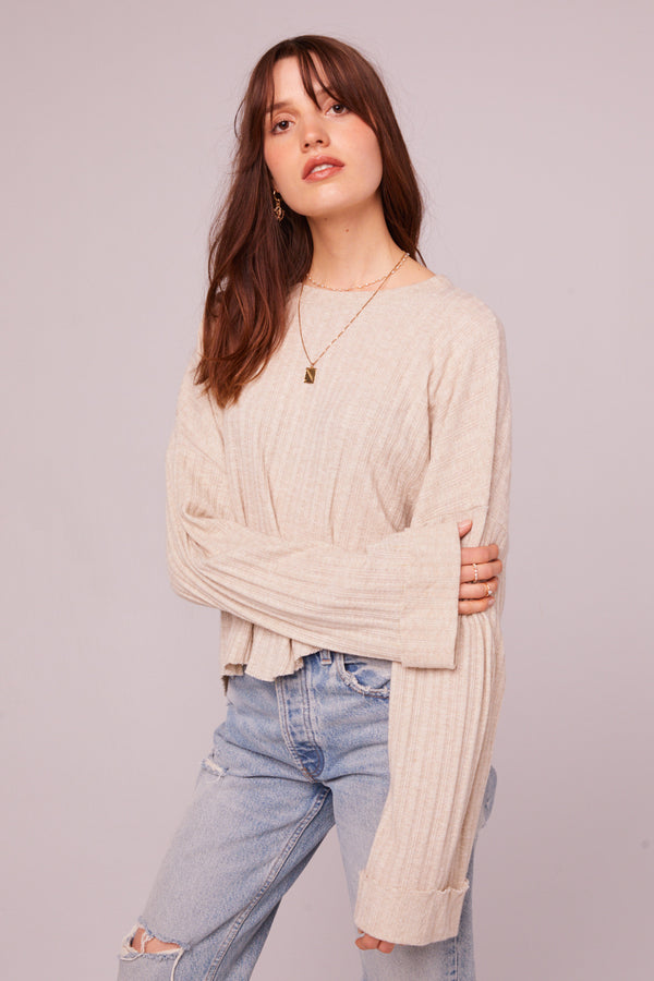 Westminster Asymmetrical Hem Sweater Master