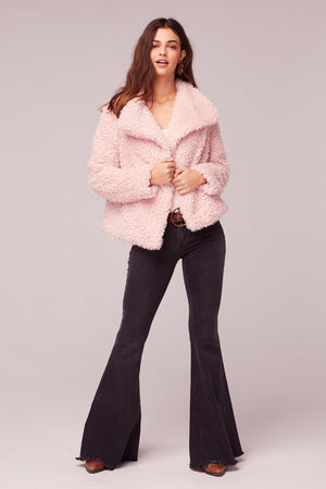 Whole Lotta Love Pink Faux Fur Jacket Master