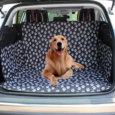 Waterproof trunk cover for pets