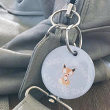 Crown Bag Tag