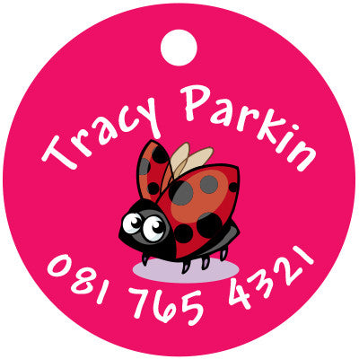 Lady Bird Bag Tag