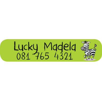 Zebra Big Label