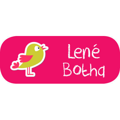 Bird Mini Label