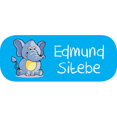 Elephant Mini Label
