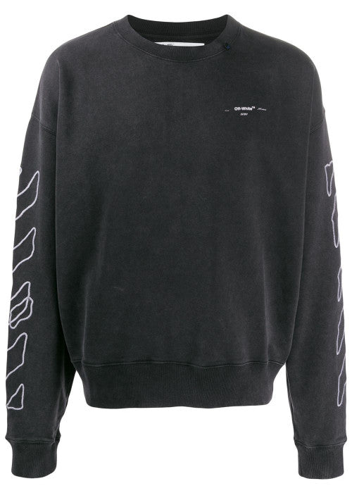 Off-White Abstract Arrow Sweatshirt