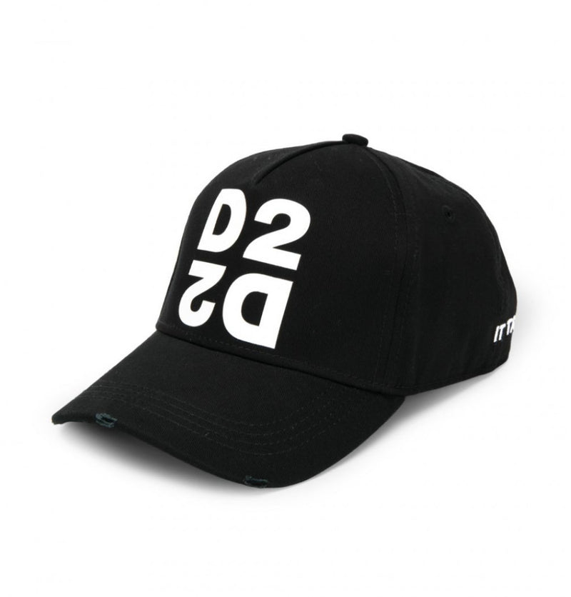 Dsquared2 Mirrored D2 Cap